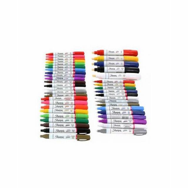34901 SHARPIE                                                      | MARCADOR PAINT FINO Y MEDIUM OIL-BASED