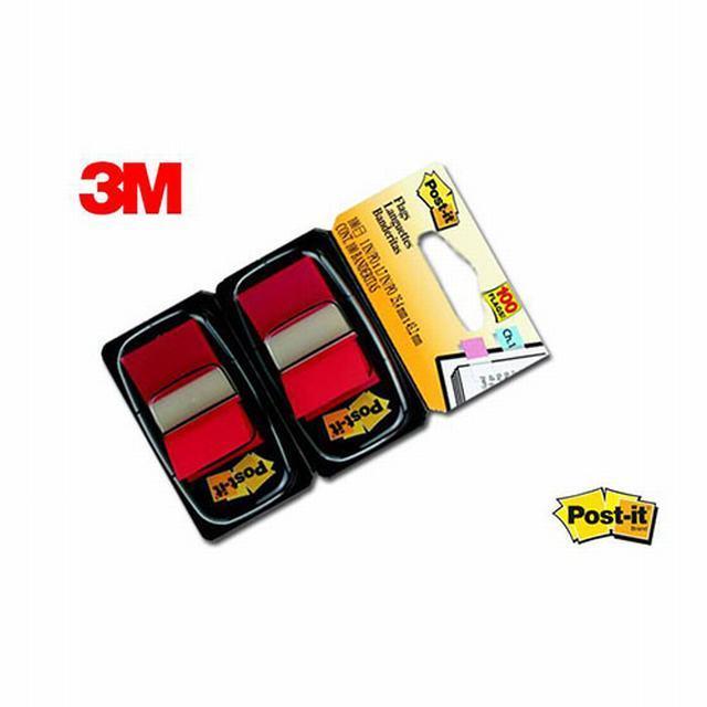 446648 POST-IT                                                      | BANDERITAS POP-UP X 100 UNIDADES DE 25MM X 43 MM ROJO