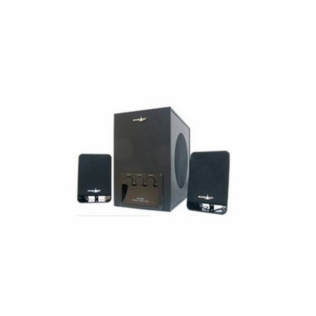 4897 SHARK-NET                                                    | PARLANTES SN-S980 12 WATTS RMS  2.1 SOUND SYSTEM