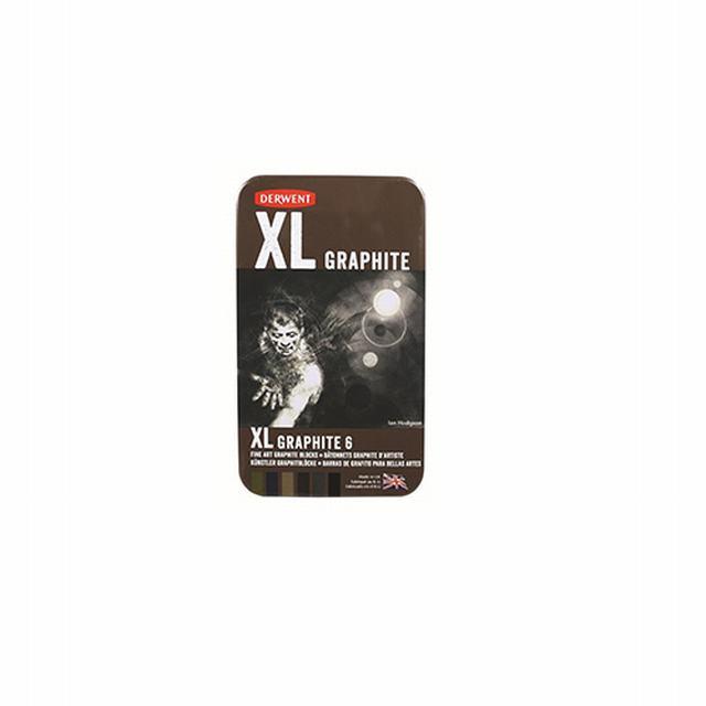 531836 DERWENT                                                      | GRAFITO XL GRAPHITE LATA POR 6 UNIDADES