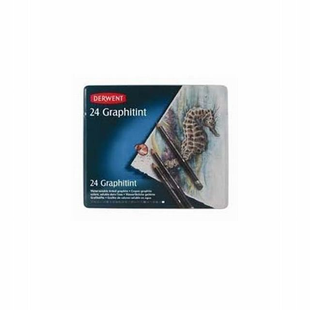 533803 DERWENT                                                      | LAPICES GRAPHITINT LATA POR 24 COLORES