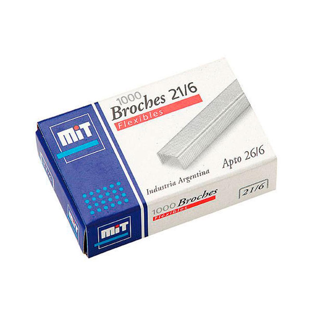 58 MIT                                                          | BROCHES Nº 21/6 POR 1000 UNIDADES FLEXIBLES