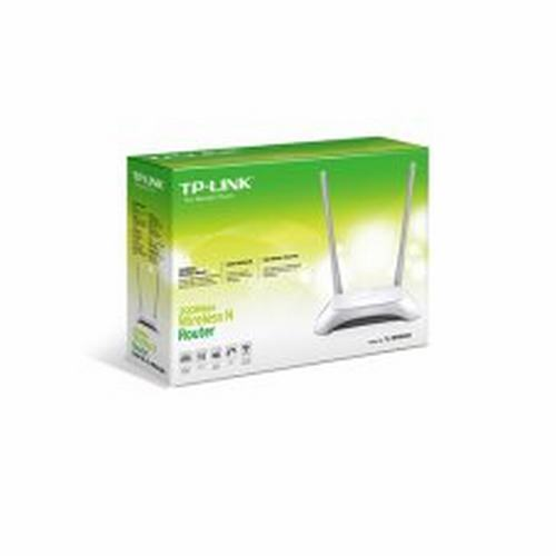 840840 TP-LINK                                                      | ROUTER TL-WR840N INALAMBRICO 300MBPS 2 ANTENAS WIFI