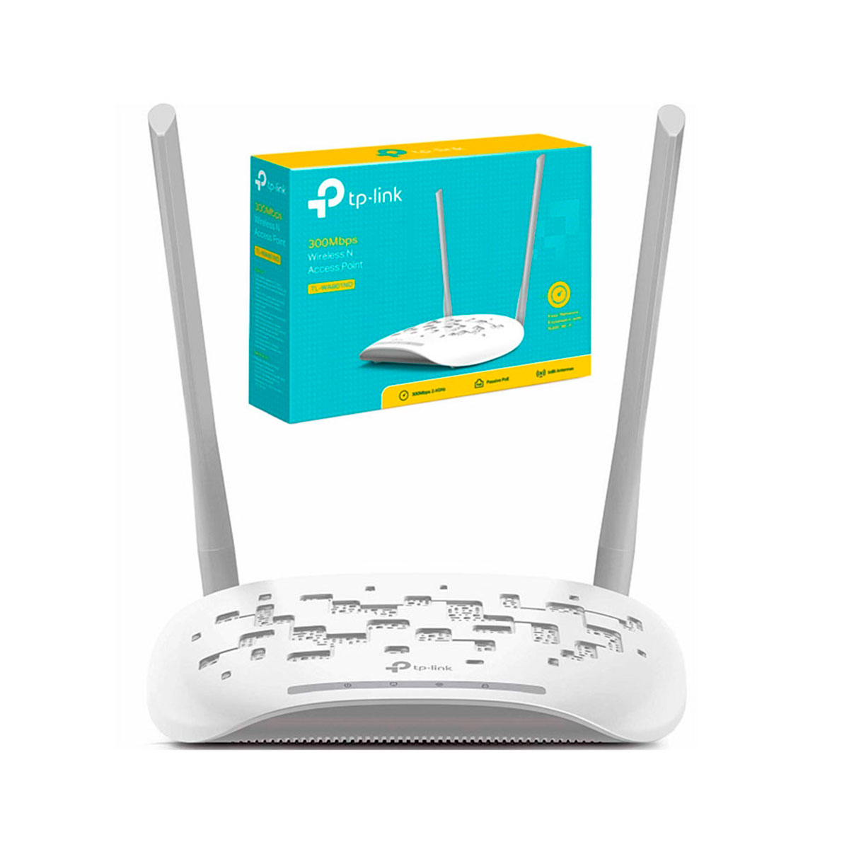 TL-WA801ND TP-LINK                                                      | ROUTER TL-WA7801ND WIFI 300MBPS 2,4GHZ 2 ANTENA