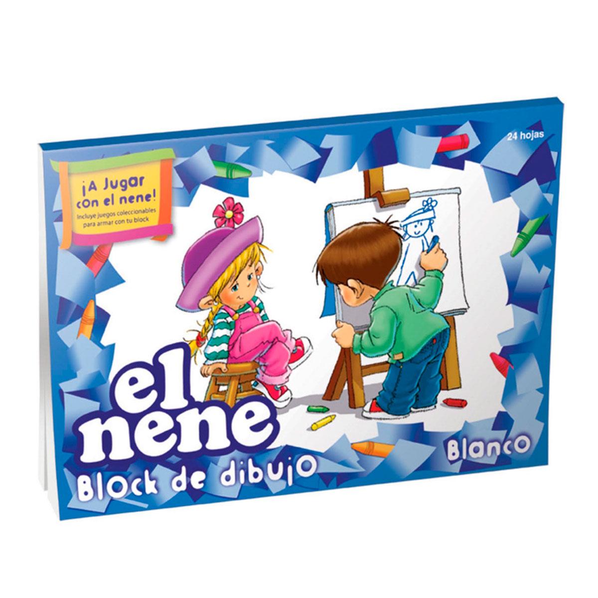 210528 EL NENE                                                      | BLOCK DIBUJO Nº 5 BLANCO POR 24 HOJAS