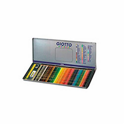 23750 GIOTTO                                                       | LAPICES SUPERMINA LATA X 50 COLORES