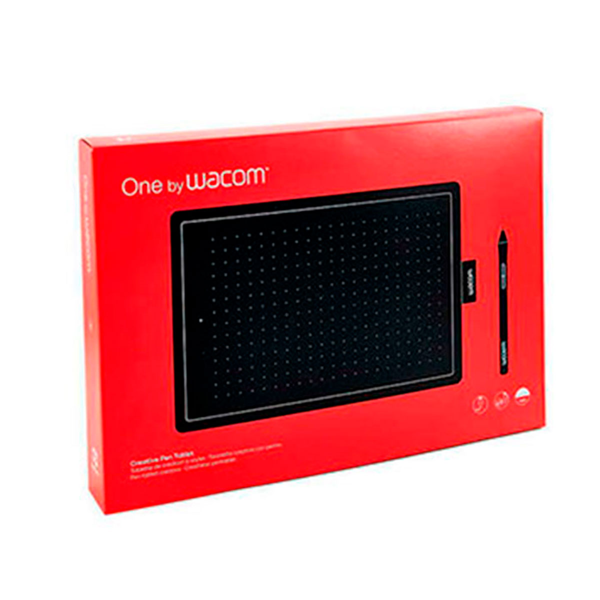 CTL472 WACOM                                                        | TABLETA ONE SMALL (210 X 146 X 8.7 MM) 2540 LPI USB