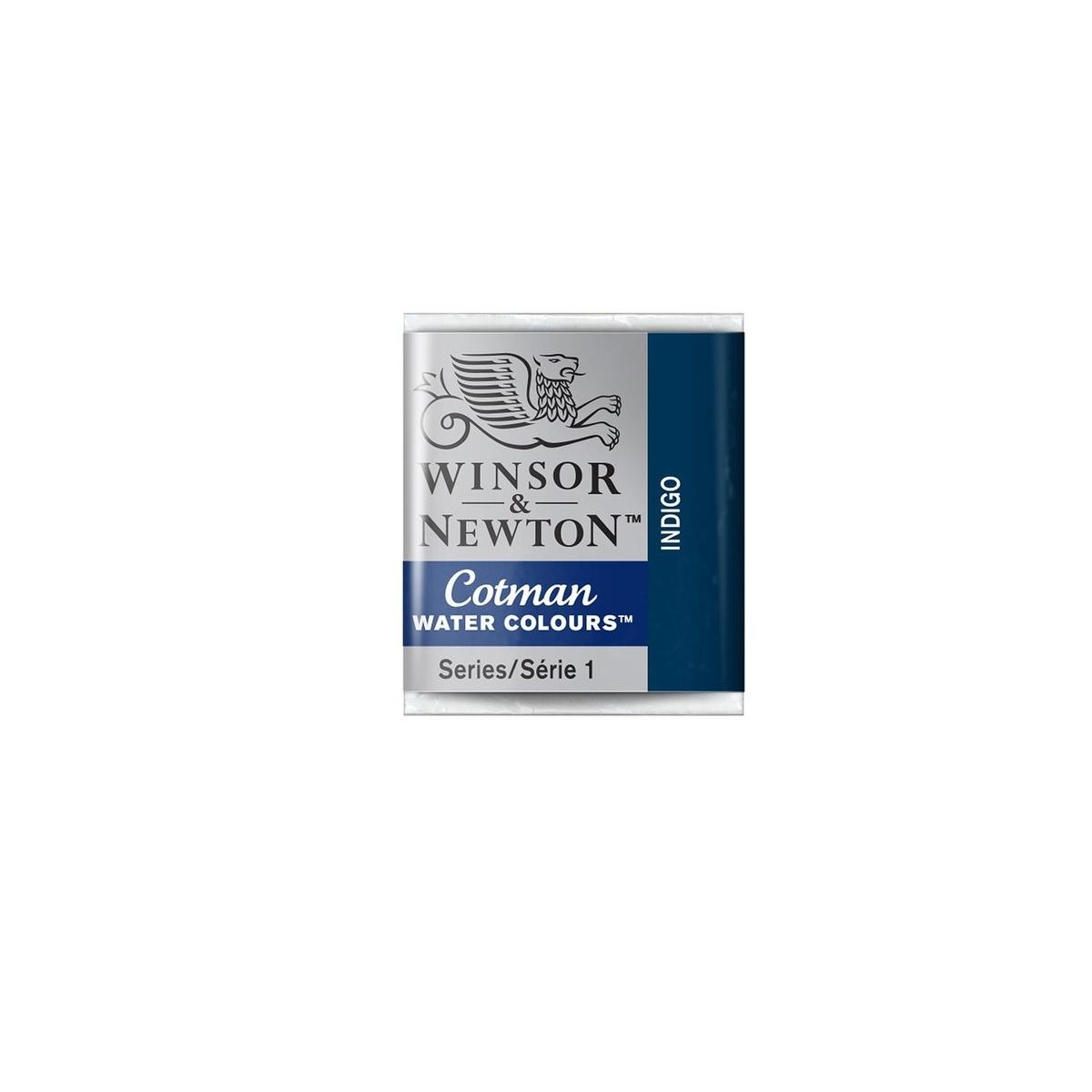 CWC-322 WINSOR & NEWTON                                              | ACUARELA COTMAN EN PASTILLA 1/2 PAN INDIGO